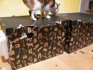 Luzie's and Angua's boxes: quite plucked